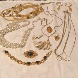 Mystery Bundle Lot Estate Vintage Broken Jewelry